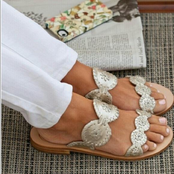 Jack Rogers Lauren Slide Sandals